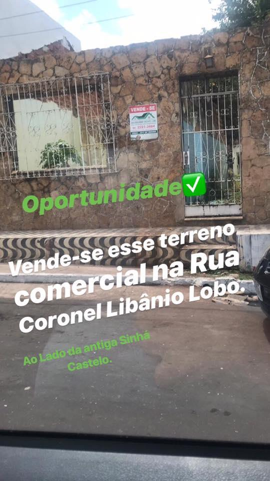 Casa Comercial - RUA CORONEL LIBANIO LOBO